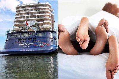 Gây ầm ĩ khi 'làm chuyện ấy', cặp đôi bị đuổi khỏi du thuyền