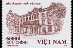 Phát hành tem kiến trúc phong cảnh Việt Nam
