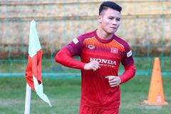 Quang Hải, Trọng Hoàng và Duy Mạnh nguy cơ lỡ đấu Thái Lan