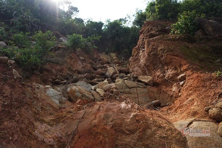 sạt lở,Đà Nẵng,bão số 5,sạt lở đất