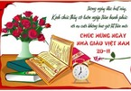 Những lời chúc hay và ý nghĩa ngày Nhà giáo Việt Nam 20/11