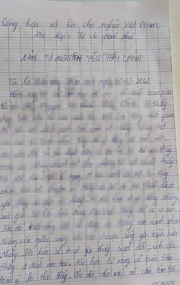 Xác minh ảnh thân mật và ' thư tự nguyện yêu thầy' của nữ sinh ở Kiên Giang