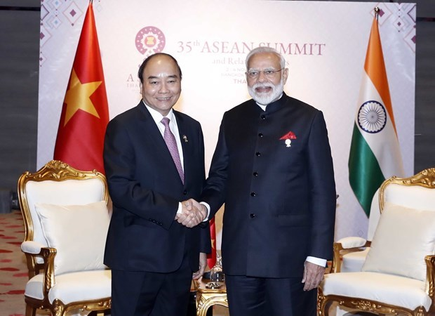 Vietnamese PM meets Indian and New Zealand counterparts in Thailand