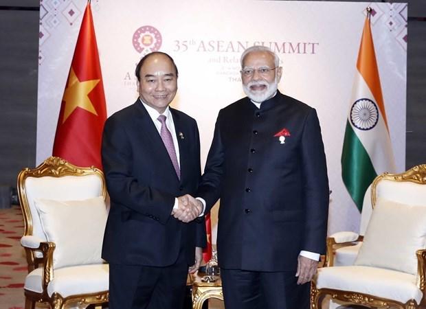 Prime Minister Nguyen Xuan Phuc,Indian Prime Minister Narendra Modi,35th ASEAN Summit,Indias Act East Policy,Vietnam-India relations,IndiGo,Vietjet Air,ASEAN Chairmanship