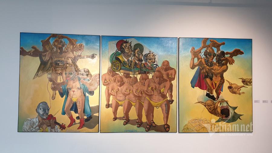 Chiêm ngưỡng tác phẩm mỹ thuật của các nghệ sĩ tiêu biểu châu Á
