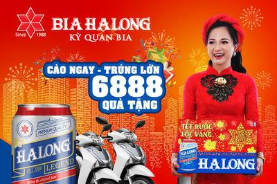 'Tết rước lộc vàng - Tân niên vạn phúc' cùng Bia Hạ Long