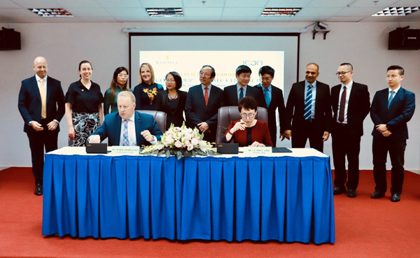 Vinmec bắt tay đối tác Australia nâng cao chất lượng điều trị ung thư