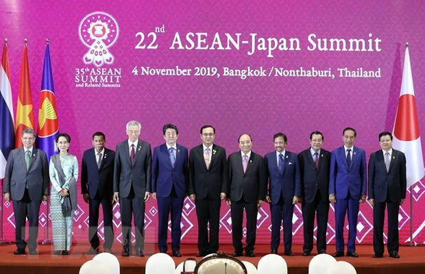Prime Minister Nguyen Xuan Phuc,3rd Regional Comprehensive Economic Partnership Su,RCEP,RCEP Summit,ASEAN,35th ASEAN Summit,Abe Shinzo,Vietnam Japan,ASEAN Japan