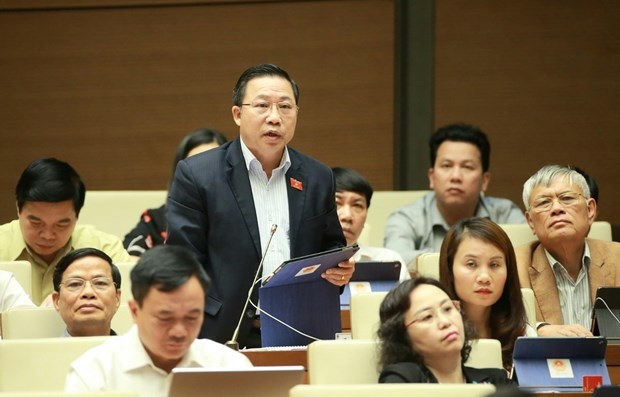 National Assembly,National Assembly's eighth session,Q&A session,NA General Secretary Nguyen Hanh Phuc,NA deputies,Vietnam