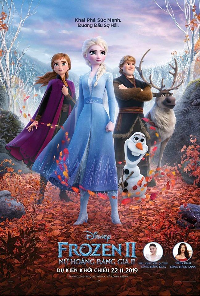 Tiêu Châu Như Quỳnh, Võ Hạ Trâm lồng tiếng Elsa, Anna trong 'Frozen 2'