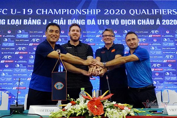 U19 Việt Nam,HLV Philippe Troussier,U19 châu Á,Vòng loại U19 châu Á,U19 Nhật Bản