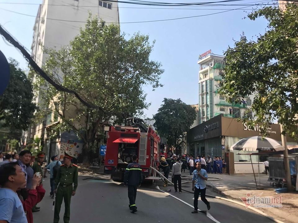 cháy,cháy chung cư,Hà Nội