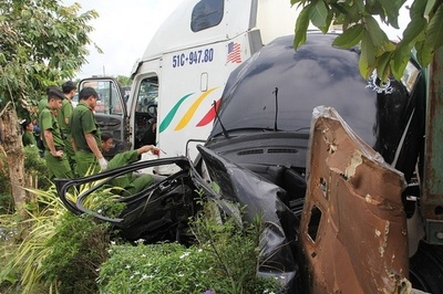 Ngày mai xét xử vụ xe container tông chết 5 người ở Tây Ninh