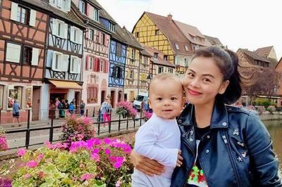 Cuộc sống êm đẹp bên chồng Tây tại Thụy Sĩ của 'cô gái xấu xí' Xuân Thùy