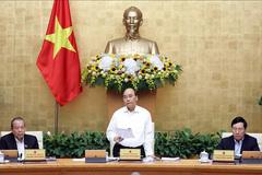 Thủ tướng chủ trì phiên họp Chính phủ thường kỳ tháng 10