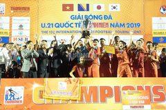 Hạ đội vô địch SV thế giới, U21 Việt Nam lên ngôi thuyết phục