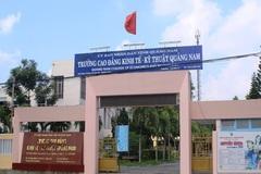 Hiệu trưởng Trường CĐ Kinh tế Kỹ thuật Quảng Nam xin nghỉ việc