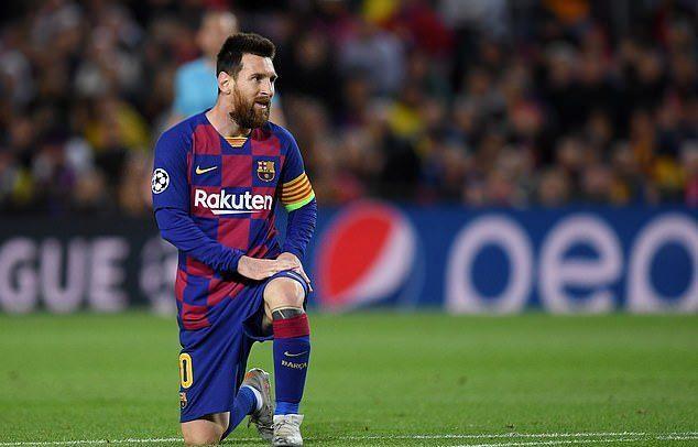 Messi bất lực, Barca bị cưa điểm thất vọng
