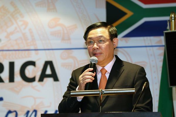 Việt Nam - Nam Phi quyết tâm đạt 2 tỷ USD kim ngạch thương mại
