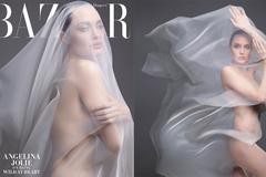 Angelina Jolie khỏa thân chụp ảnh nổi loạn