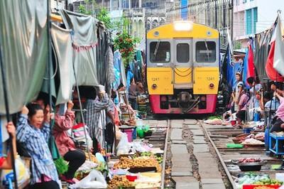 10 khu chợ đặc biệt nhất thế giới
