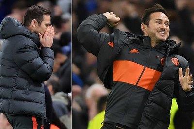 Lampard sướng điên đảo dù Chelsea không thắng