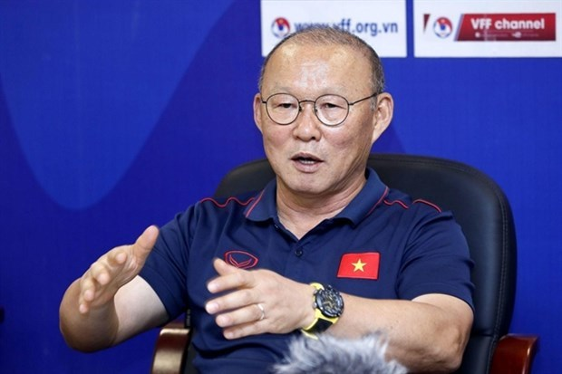 Coach Park Hang-seo extends contract with Vietnam Football Federation