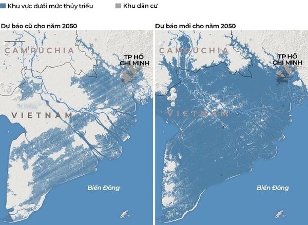 Đôi điều về cảnh báo 'xóa sổ' Đồng bằng Sông Cửu Long