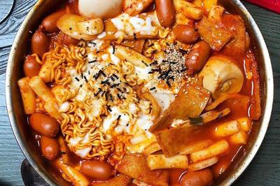 Giật mình nồi lẩu cao cấp Hàn Quốc 65 ngàn tràn ngập hải sản