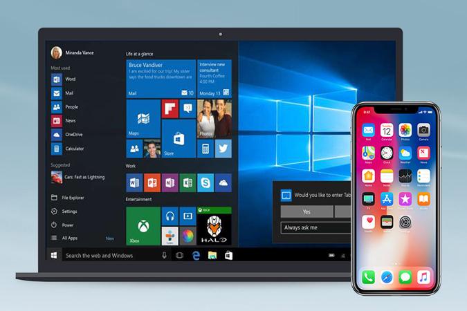Cách sửa lỗi Surface Pro 4 không kết nối với sóng của iPhone?