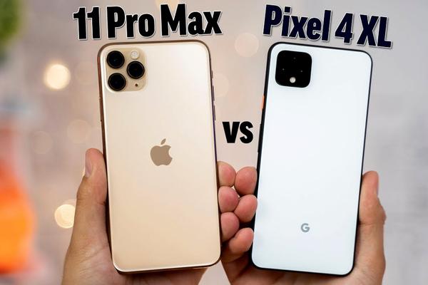 iPhone 11 Pro Max khiến Pixel 4 XL 'muối mặt' trong bài kiểm tra tốc độ