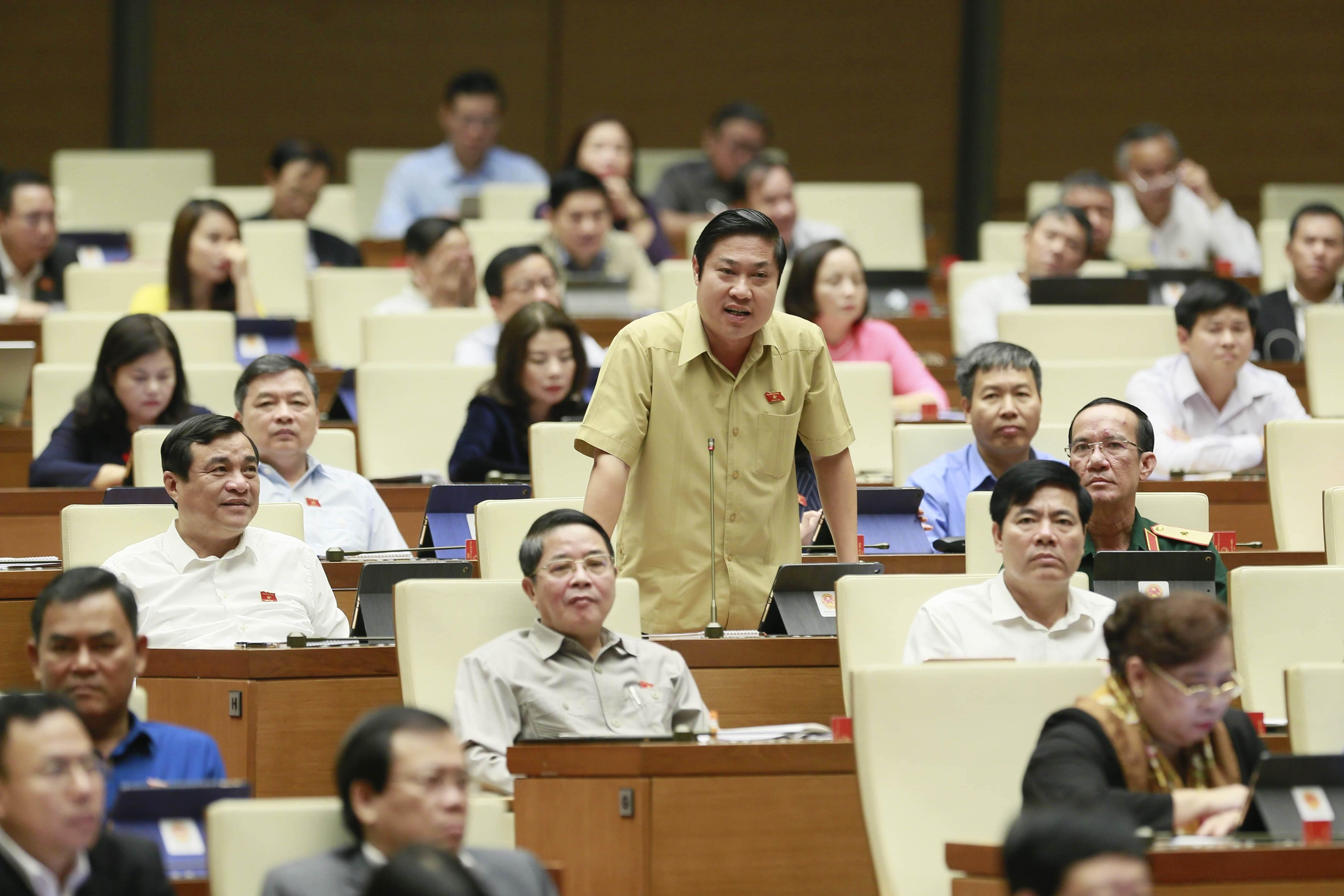 Nguyễn Xuân Cường,Quốc hội,tàu vỏ thép