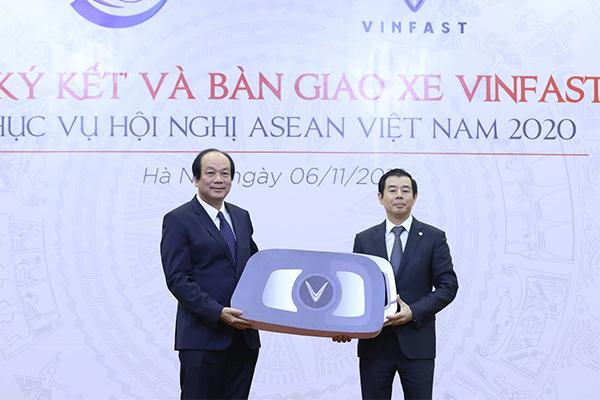 Văn phòng Chính phủ muốn thuê xe Vinfast, không mua xe công