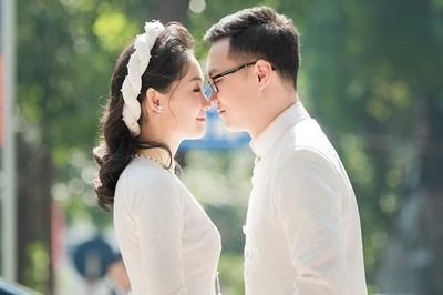Chồng sắp cưới điển trai của BTV Thời sự Thu Hà
