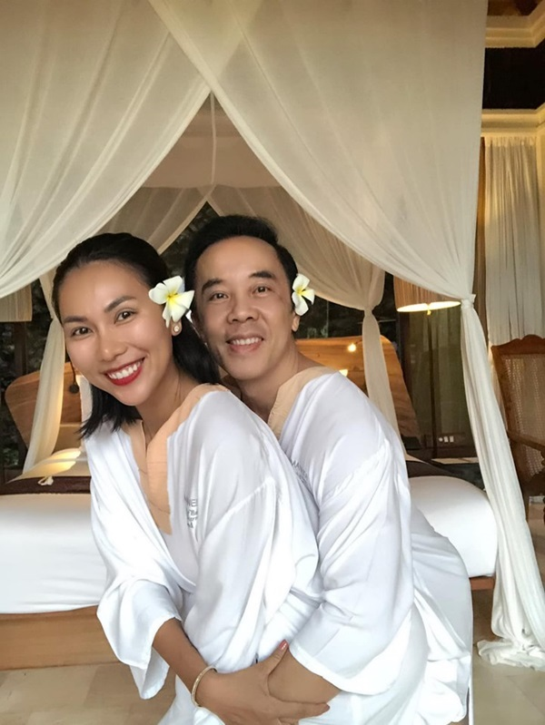 Khánh Ngọc lần đầu công khai bạn trai Việt kiều Mỹ