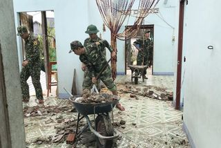 Phu Yen asks for US$1.55mil. support for post-storm clean-up