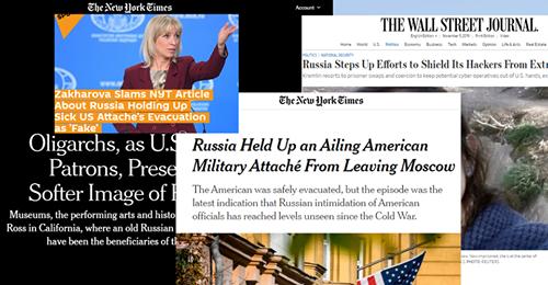 Moscow tố truyền thông Mỹ châm ngòi 'tư tưởng chống Nga'