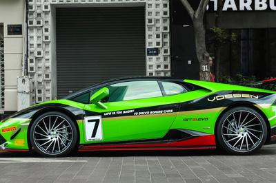 Lamborghini Huracan khoác áo xe đua GT3 tại TP.HCM