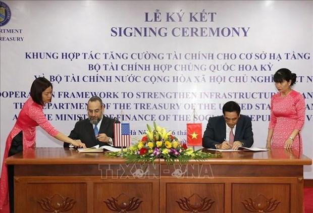 Vietnam, US cooperate to strengthen infrastructure finance