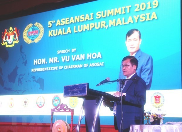 Vietnam attends 5th ASEANSAI Summit in Indonesia