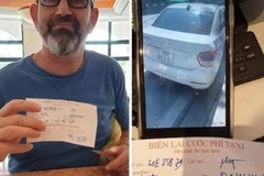 Hanoi taxi driver fined for ripping off foreign passenger