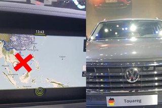 Vietnam customs to impound seven autos featuring nine-dash-line map