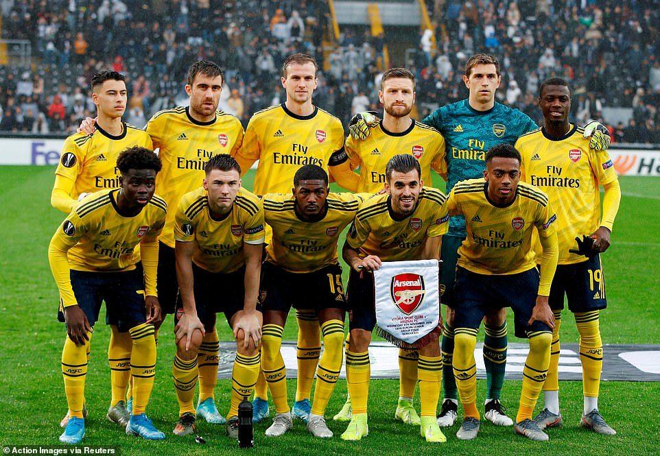 Arsenal,Vitoria Guimareas
