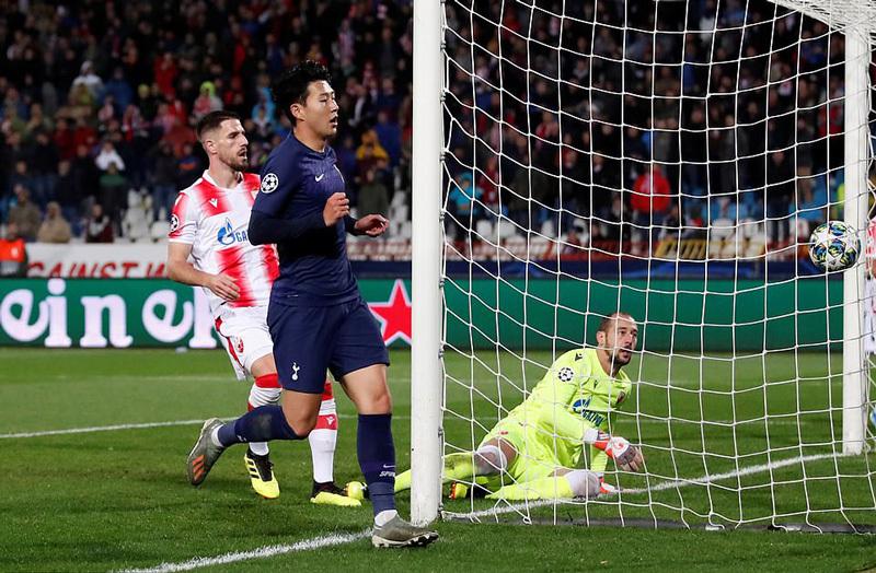 Son Heung-Min bừng sáng với cú đúp, Tottenham đại thắng
