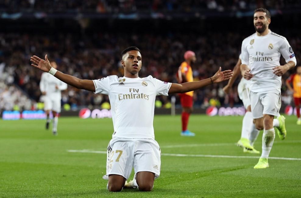 Rodrygo 'nổ' hat-trick, Real Madrid vùi dập Galatasaray