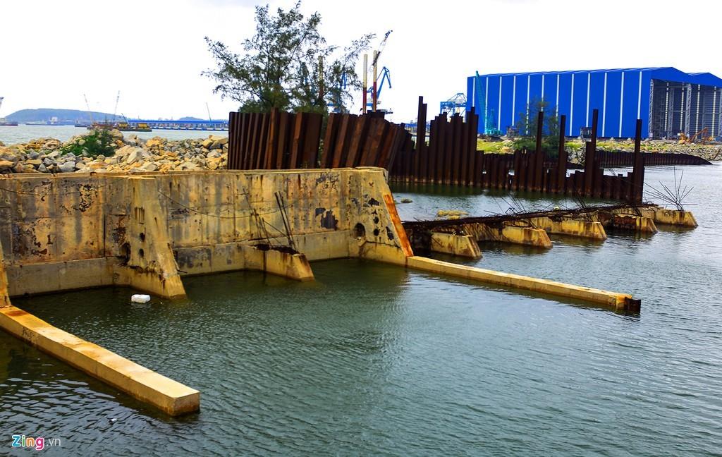 nhà máy đóng tàu,nhà máy đóng tàu Dung Quất,dự án thua nỗ