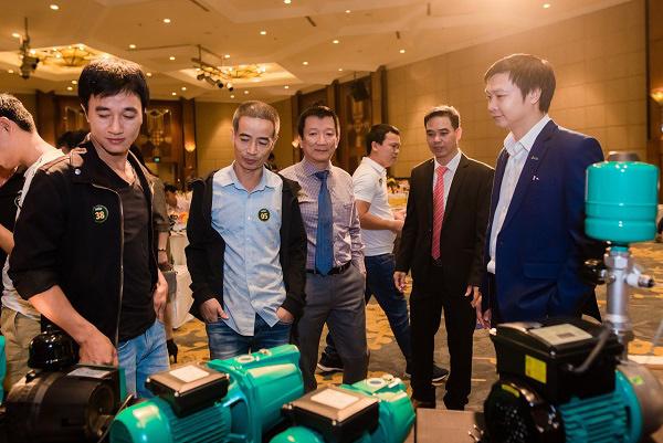 Wilo ra mắt các dòng sản phẩm máy bơm thông minh