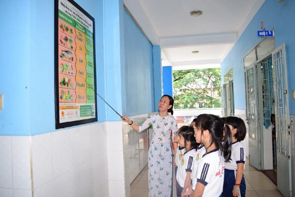 'Chuẩn hóa' thực đơn bán trú tiểu học tỉnh Hà Giang