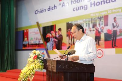 Bùng nổ chuỗi hoạt động an toàn giao thông tại Hà Nam 2019