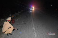Tài xế bỏ chạy sau vụ tai nạn khiến 2 chị em ruột nguy kịch ở Quảng Trị